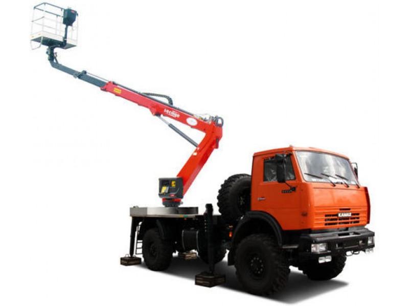 Телескопический автогидроподъемник (автовышка) Т-322-43502