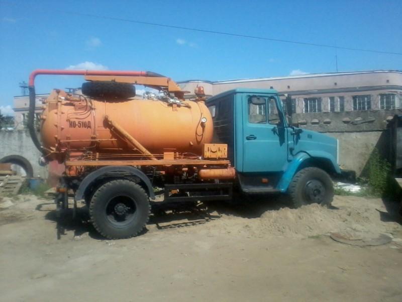 Илососная машина КО-510Д