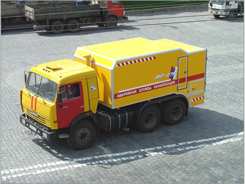 Каналопромывочная машина ДКТ-275