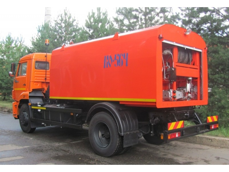Каналопромывочная машина КО-564-20