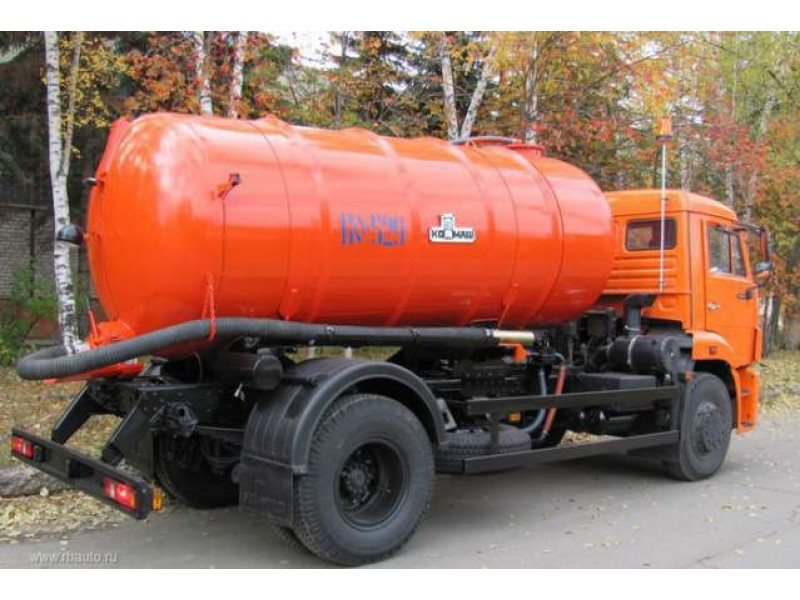 Ассенизаторская вакуумная  машина КО-529-13