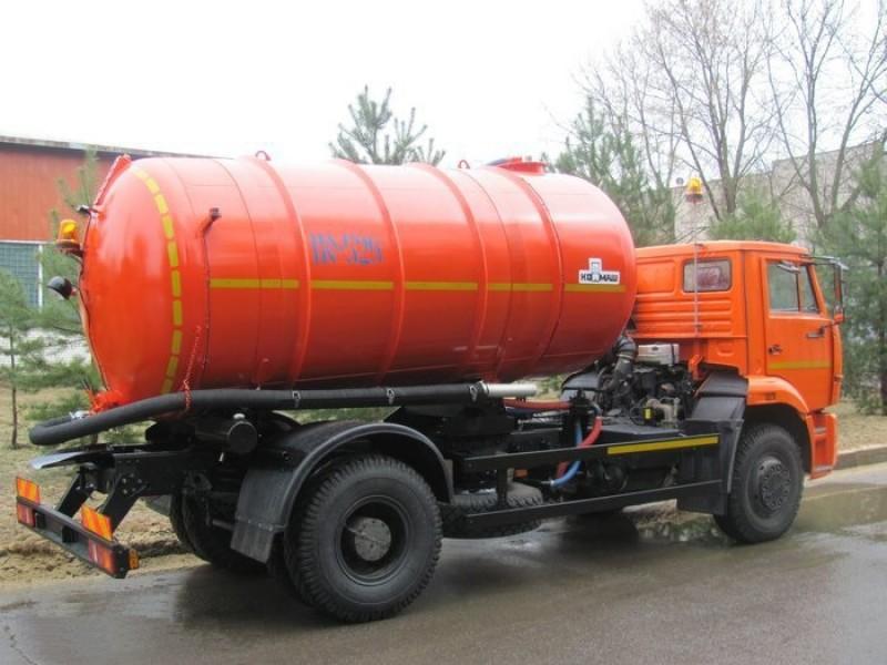 Ассенизаторская вакуумная  машина КО-529-14