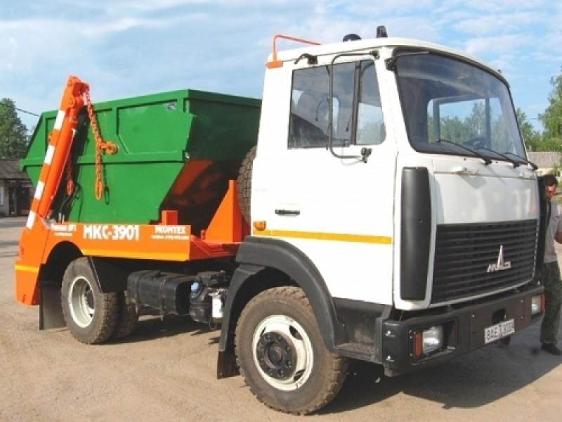Контейнерный мусоровоз МКС-3901 (МК-3411-19)
