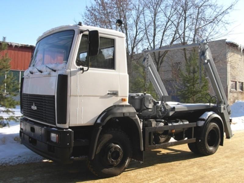 Контейнерный мусоровоз КО-450-08
