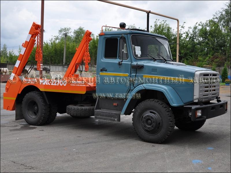 Контейнерный мусоровоз МКС-22700