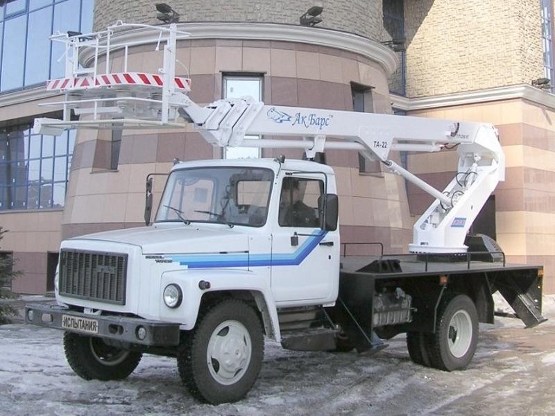 Телескопический автогидроподъемник (автовышка) ТА-22