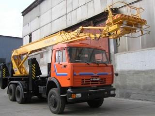 Автовышка КАМАЗ АПТ-30