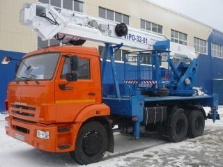 Автогидроподъемник КАМАЗ ВИПО-32-01