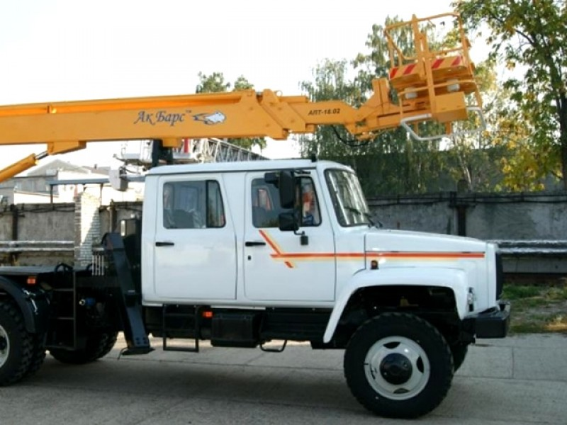 Автовышка АПТ-18-33086