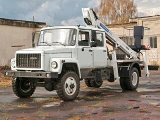Автовышка АГП-18Т-33081