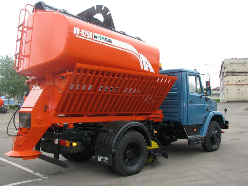 Комбинированная машина КО-829А