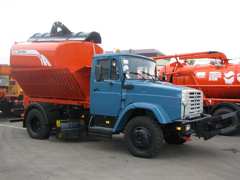 Комбинированная машина КО-829АД