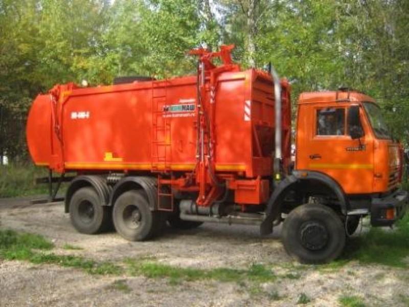 Мусоровоз с боковой загрузкой КО-440-6