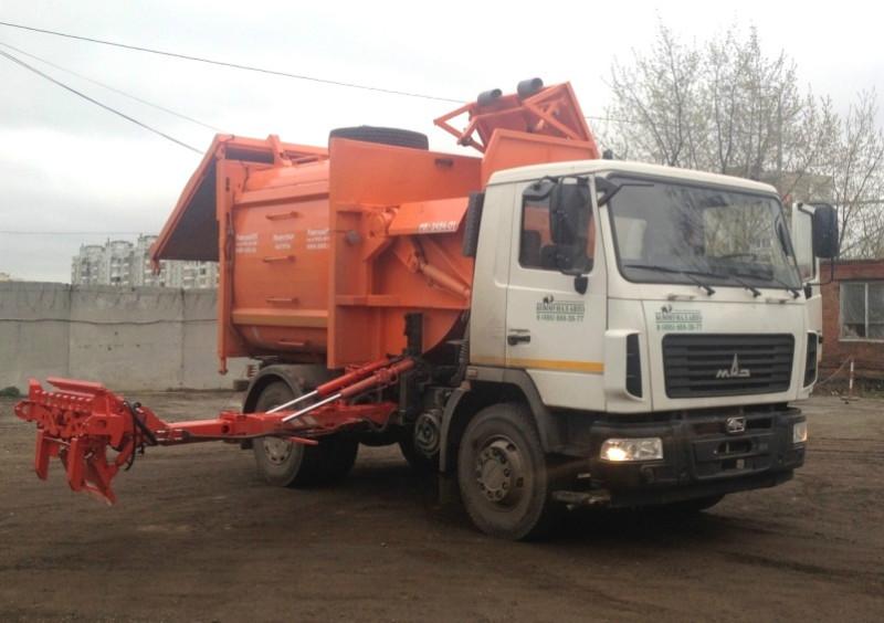 Особенности функционирования мусоровоза на шасси МАЗ-5550В2